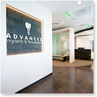 Advanced Implants and Periodontics Entryway, Frederick, Maryland