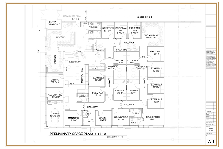 Medical Office Plan